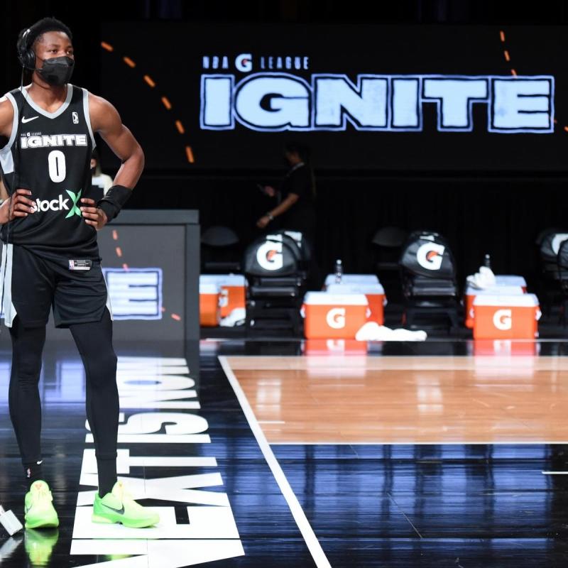 G 리그 Ignite의 최고 NBA 드래프트 전망에 대한 등급 데뷔
