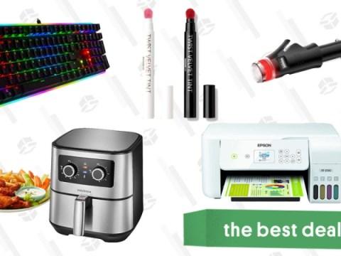 토요일 베스트 딜 : Epson EcoTank 무선 프린터, Insignia Air Fryer, K-Beauty 벨벳 립 틴트, Rosewill 기계식 게이밍 키보드 등