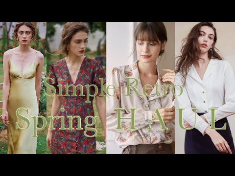 Zara has a more attractive French retro mood Simple Retro Spring New Sang-How 🌱ft. There is a pretty one-piece event!