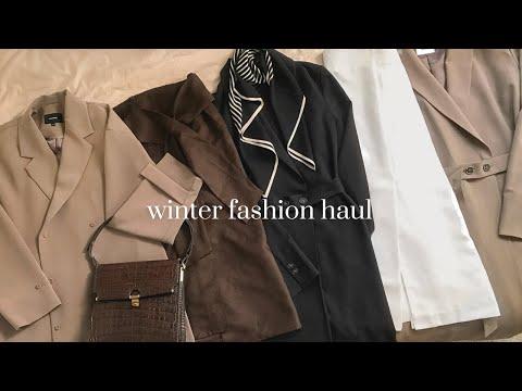 Brand One Piece 70% Sale Deuktem Howl⭐ Sale Information👛 Winterkleid, Rock, Daily Look, Winter Fashion Howl |  Winter fahion haul 2021