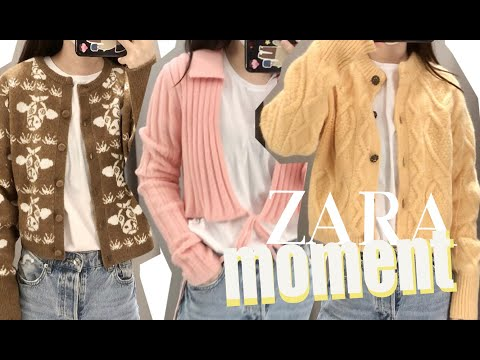 Zara Spring New Howl ♥ Daily Zara Spring New ZARA Примерь!  Zara Spring New Trion / Кардиган Zara / Вязаная куртка Zara / Zara Fashion / Zara Fashion Girls / Распродажа Zara