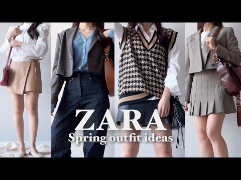 ZARA HAUL |  🌸 10 new spring items + bag styling |  Spring outfit ideas (ft. zara) |  Zara Howl |  ZARA NEW IN TRY-ON haul