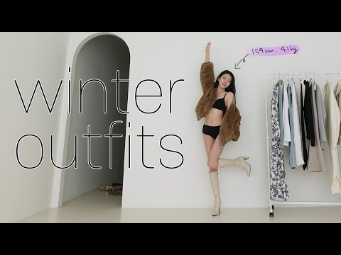 The first lookbook in 2021!  (feat. Outer Dressing) |  I have a subscriber event❣️ |  Fashion Look Book |  Quan Quruc|  Winter lookbook |  Daily Look |  winter outfis |  lookbook