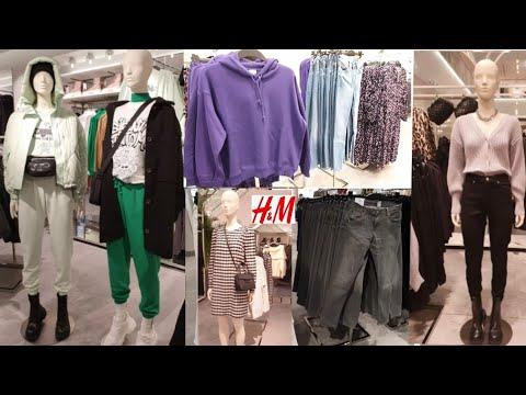 H&M WOMEN'S NEW COLLECTION / FEBRUARY 2021