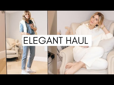 ELEGANT, CHIC & TIMELESS HAUL |  Try On Review |  COS