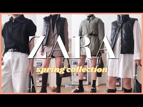 [Zara Howl] Follow the trendy spring street look at ZARA/ Fashion trend / Zara Spring New/ ZARA HAUL / ZARA /FASHION TREND/