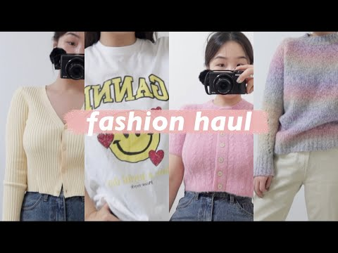 [My money-nae-san fashion howl you will regret if you don't see it] Stop winter clothes, I want to buy spring clothes |  Colorful spring fashion 2021 |  Tall girl fashion |  Habibi Lisa |  FASHION HAUL & OUTFITS |