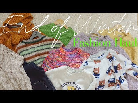 Knit Heaven Fashion Howl to wear from winter to early spring (feat.Homeware)