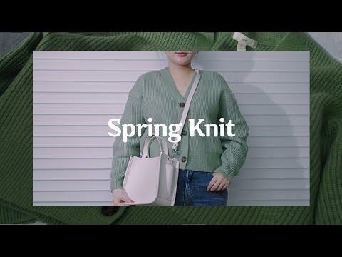 [159cm 56kg]逼真的2021年春季新款H&M针织衫和开衫推荐!  Kuankkukuk / H&M春季针织开衫HAUL