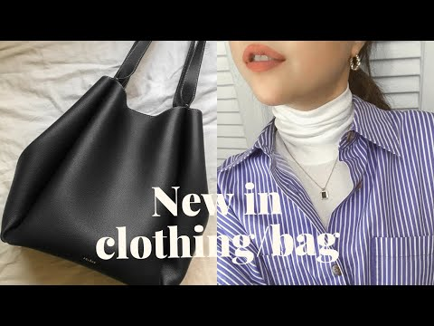 January daily item collection zip💙 W concept coat, daily bag, knits, denim, things that are satisfied these days |  Refined902, Pollene, Everlane winter fashion haul 2021