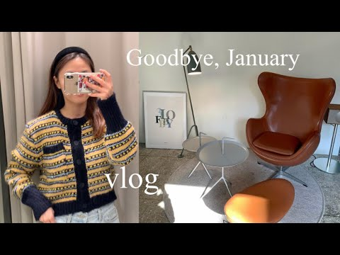 (ENG) Daily look for a week |  Grow Spring New & Mango Howl, Apple Watch Unboxing|  Urbanic 30, Cienne, Zara, Zoid Vivier |  Life shot place and daily life vlog that only I want to know