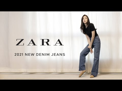 Zara 2021 New Jeans Howl |  Wide Leg Fit Collection👖 |