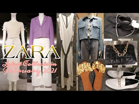 ZARA商店中的新功能|  ZARA 2021年2月系列|  ZARA 2021秋冬系列
