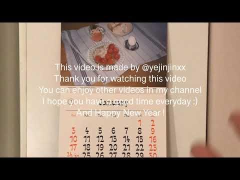 Ready for 2021☀️|  2021 Calendar Recommendation, Magazine Morning Calendar Review, Calendar Howl Vlog
