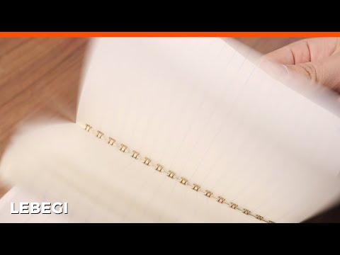 The process of making 1,000 won notes 100 times more expensive