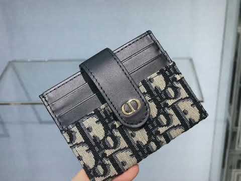 【Hong Kong Scarecrow】 Dior New Wallet Update