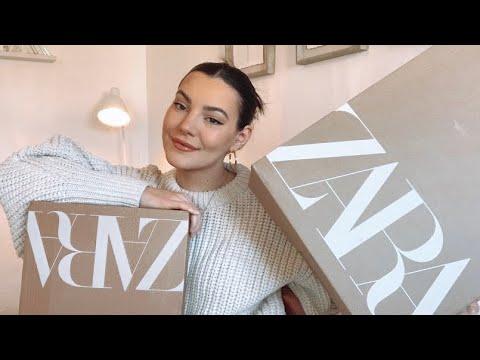 WINTER ZARA HAUL |  TRY-ON |  FEBRUARY 2021 |  Katie Waller