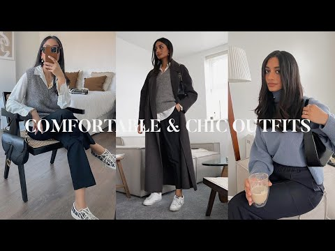 COMFORTABLE & CHIC WINTER OUTFITS | LOOKBOOK