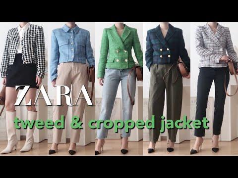 [ZARA HAUL] สวมเสื้อทวีดและเสื้อครอปสุดหรูที่ ZARA / เทรนด์แฟชั่น / Zara Spring New / ZARA / FASHION TREND / Zara