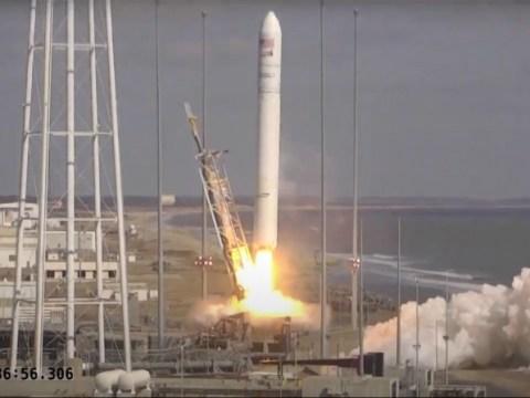 Northrop Grumman Antares 로켓, NASA를 위해 Cygnus 화물선을 우주 정거장으로 발사