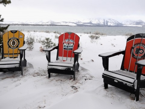 Flyers vs. Bruins : TV 채널, 시간, 타호 호수에서 NHL Outdoors 시청 방법