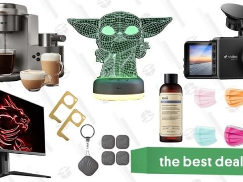 일요일 베스트 딜 : MSI 27 형 게이밍 모니터, ViviLink Dashcam, Star Wars Night Light, Nutale Findthing Trackers, Keurig Coffee & Latte Maker, Klairs Skincare 등