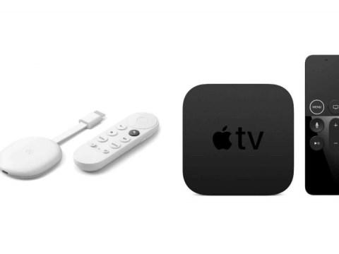 새 Apple TV를 사지 마십시오.  대신 Google TV로 Chromecast를 구입하세요.