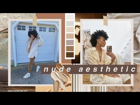 Spring Outfits 2021 STREETWEAR || Styling Neutrals LOOKBOOK