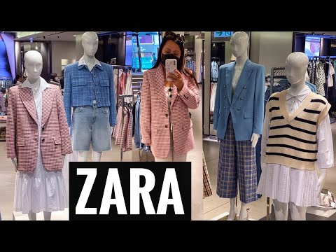 ZARA最新系列2021 *春季/夏季专卖店中的新商品!*和我一起购物