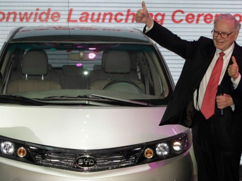 Warren Buffett's Berkshire Hathaway has scored a 3,000% gain on its BYD investment. Here's the story of its bet on the Chinese electric-vehicle company.