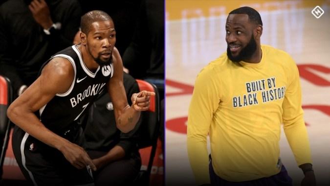 NBA All-Star Draft 2021 เวลาช่องทีวีและบัญชีรายชื่อสำหรับ Team LeBron vs. Team Durant รายการคัดเลือก