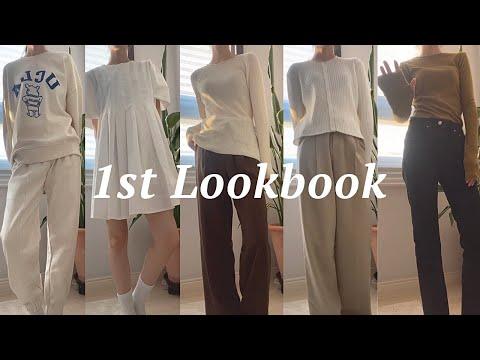 Lookbook S / S 2021 Sister Shopping Mall Bosses 10 координаты👚 |  Весенний новый лукбук • Kuankkook • Daily Look • Вертикальный лукбук • Координация со студентами колледжа • Fashion Howl |  Женский торговый центр |  Тенби8