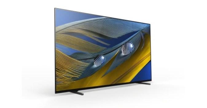 소니, 유럽에서인지 지능 기능을 갖춘 BRAVIA XR A80J OLED TV 출시