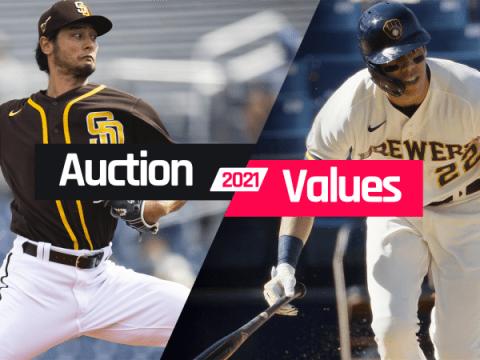 판타지 야구 경매 가치 : 예상 달러 가치, 2021 년 초안 입찰
