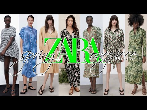 ZARA 2021 spring new dress 11 items introduced