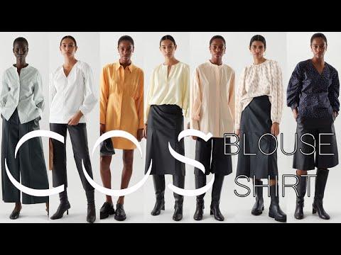 COS 2021 весенняя новая рубашка, блузка 8 введение в стиль
