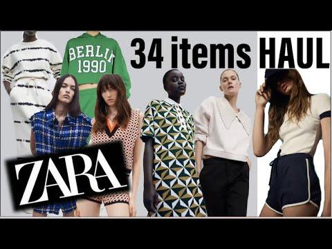 ZARA |  S/S NEW 34 items HAUL |  Howl (feat.Hermes, Chanel bag)