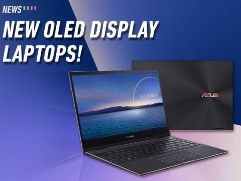 ASUS, OLED 디스플레이가 탑재 된 새로운 ZenBook 노트북 출시