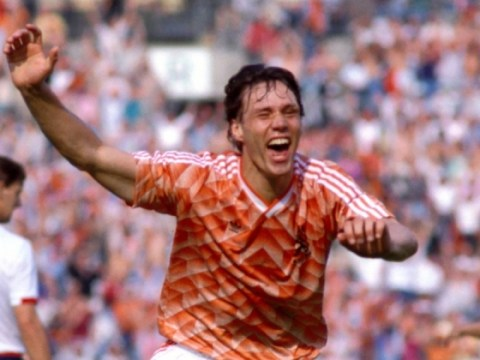 Van Basten은 부상없이 기록을 깨 뜨렸을 것입니다.