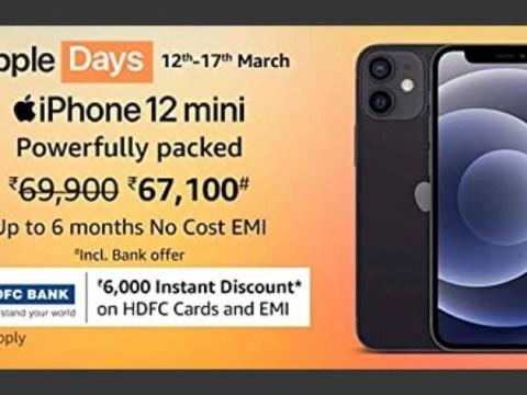 Amazon Apple Days Sale 2021 : iPhone 할인 제공