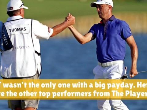 플레이 어스 챔피언십에서 최고의 PGA 투어 선수가이긴 금액
