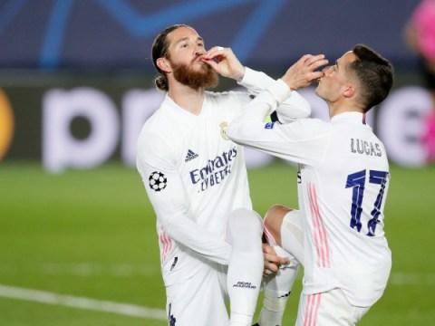 트위터는 챔피언스 리그 준준결승에서 맨체스터 시티와 레알 마드리드의 기록으로 반응