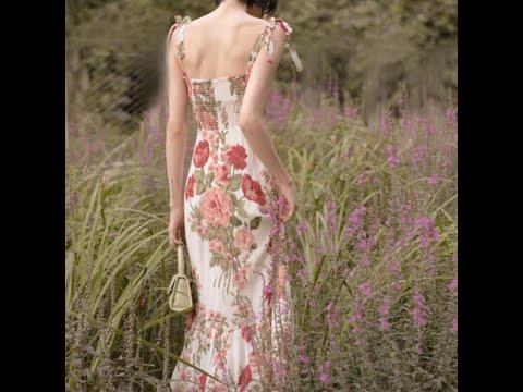 One piece dress new spring