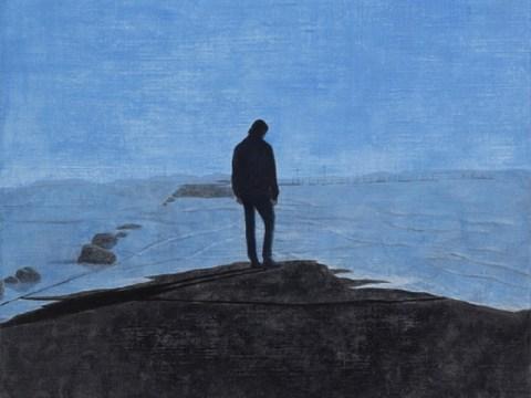 [eGallery] 'Bisu' dari seorang pria di ujung batu …  Jeon Byeong-gu 'Saat air pasang datang'