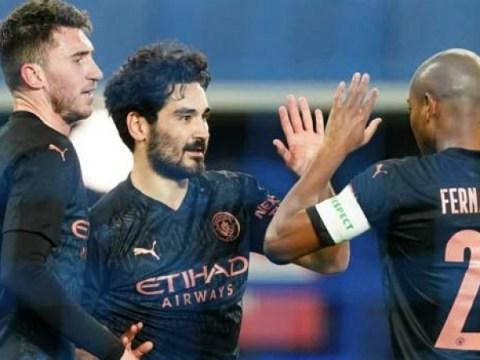 Everton 0-2 Man City : Ilkay Gundogan & De Bruyne 골로 4 배의 희망을 유지