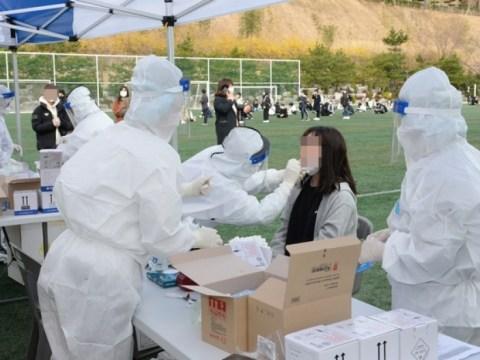 342 orang pada pukul 6 sore untuk diagnosis virus korona baru  22 orang dari kemarin ↑