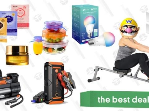 토요일 베스트 딜 : Tacklife 자동 점프 스타터 및 타이어 인플레이터, Kasa 스마트 홈 제품, Hask 헤어 마스크 팩, 로잉 머신 등