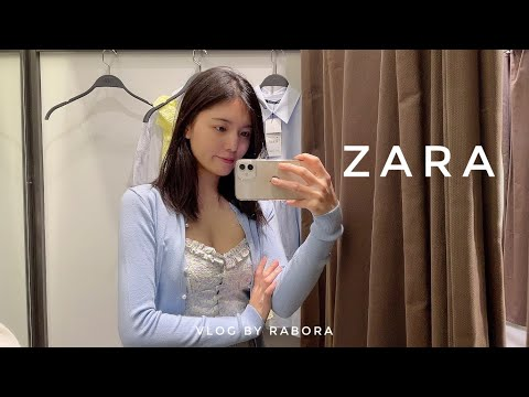 vlog one day vlog |  ZARA SS New |  Dress that is good to wear from spring to summer |  Tall little girl dress |  Songdo restaurant recommendations