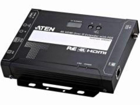 Pemancar / penerima signage digital resolusi 4K ATEN VE8952 dirilis
