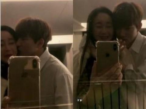 """""""Apa itu perceraian …"""" Ham So-won dan pasangan Jin-hwa mencium pipi manis"""